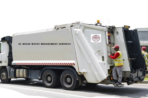 Waste Management Services : Al hasan transport equipment